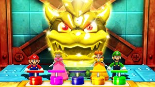 Mario Party The Top 100 MiniGames - Daisy Vs Mario Vs Luigi Vs Peach (Master Cpu)