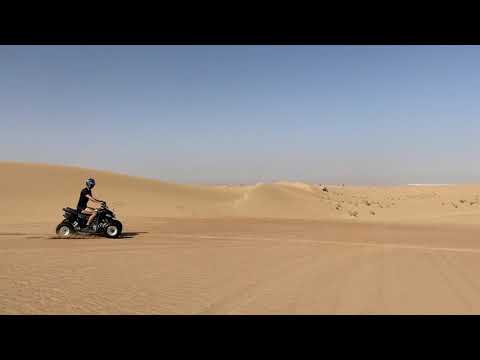 Quad racing in the Dubai desert. Great experience. March 2021