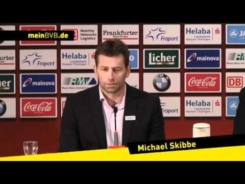Eintracht Frankfurt - BVB: Die Pressekonferenz nach dem Spiel