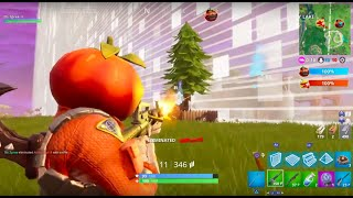 How to get past the barrier in Fortnite Food Fight before it drops