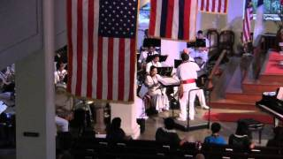 e mele kakou choral festival royal hawaiian band plays queens hula