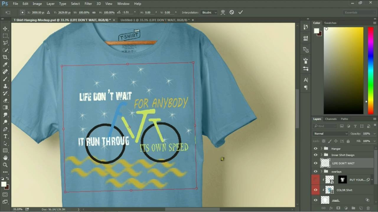 Design t shirt using photoshop - How To Graphic Design A T Shirt Using Photoshop