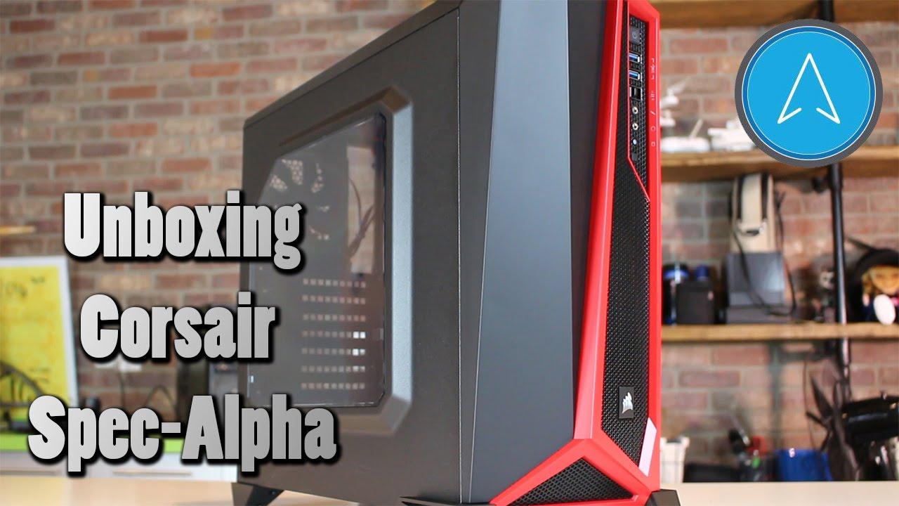 separation shoes 8e599 ea07a Unboxing Corsair Spec-Alpha Computer Case | NXT Level PC