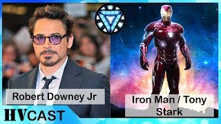 Avengers Infinity War Cast_Real Name & Movie Name