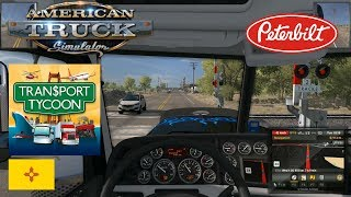 American Truck Simulator : Clovis (NM) ▶ Gallup (NM) - Peterbilt 389