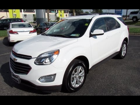 2017 Chevrolet Equinox LT AWD Walkaround, Start up, Tour and Overview