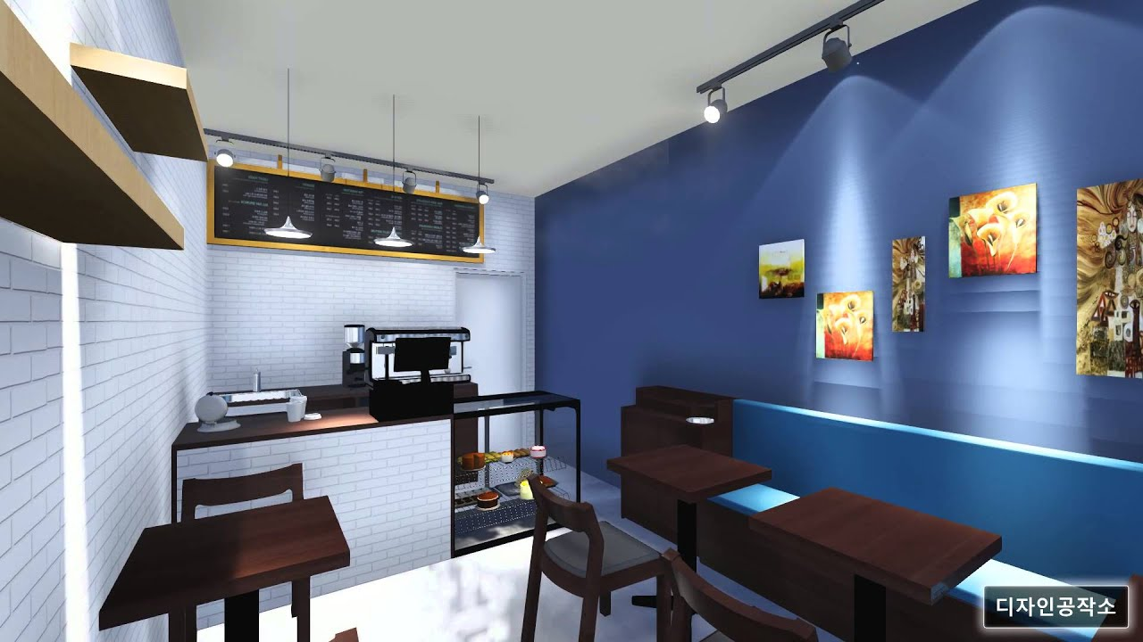 Cafe interior youtube for Brilliant cafe interior design ideas