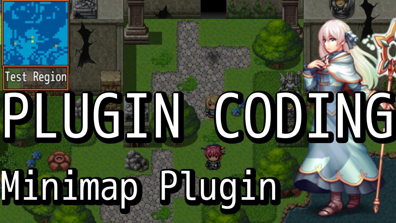 RPG Maker MV - Plugin Coding - Minimap Plugin