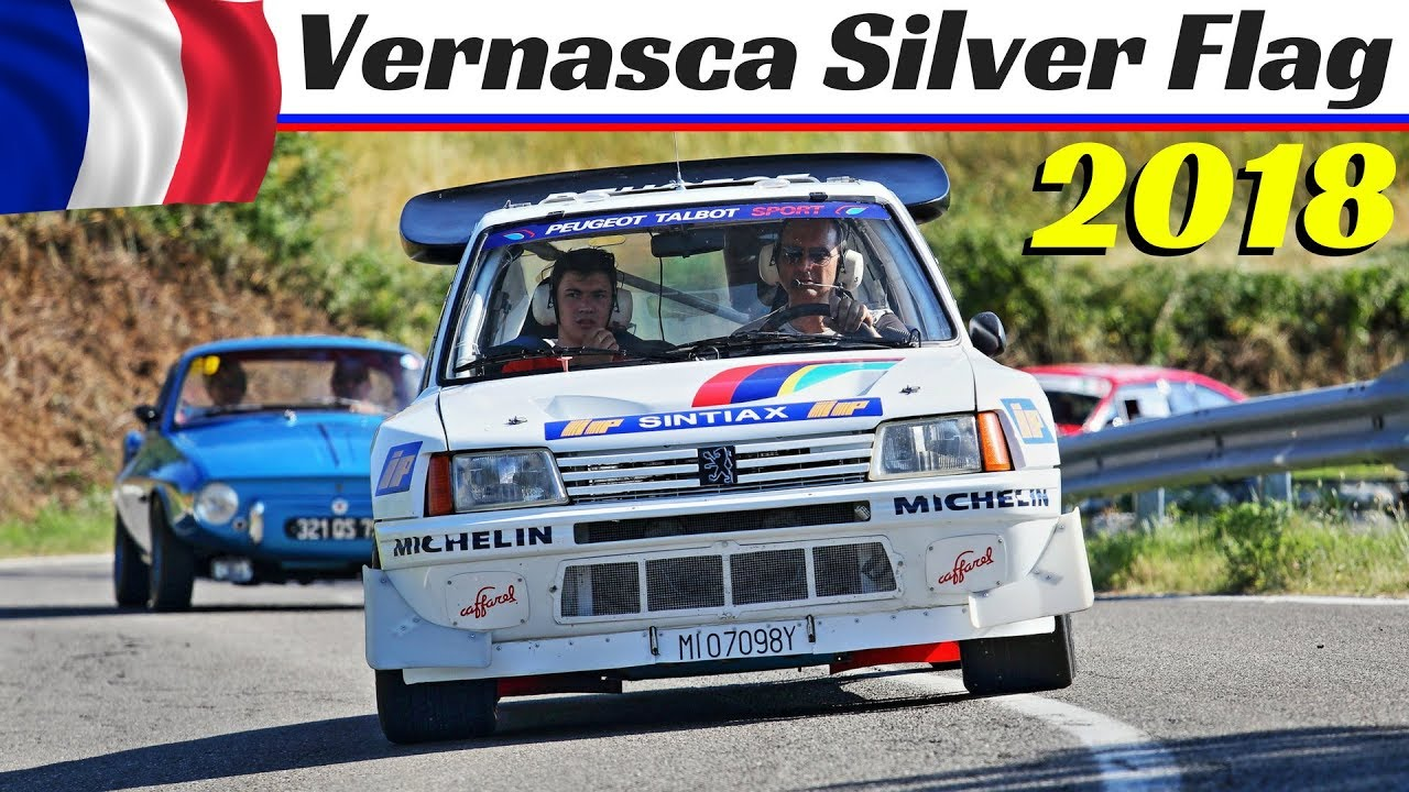 Vernasca Silver Flag 2018 Highlights - Historic Hillclimb Revival - 205 T16 Gr.B, Stratos, 512BB LM