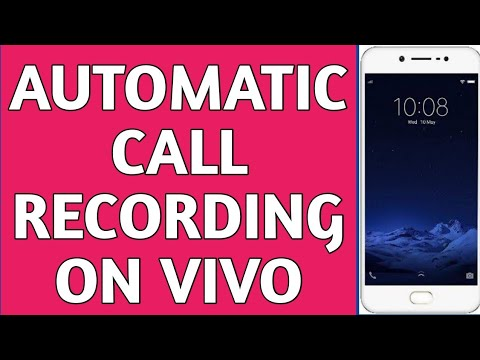 How to record phone call automatically on VIVO