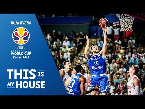 Georgia v Greece - Full Game - FIBA Basketball World Cup 2019 - European Qualifiers