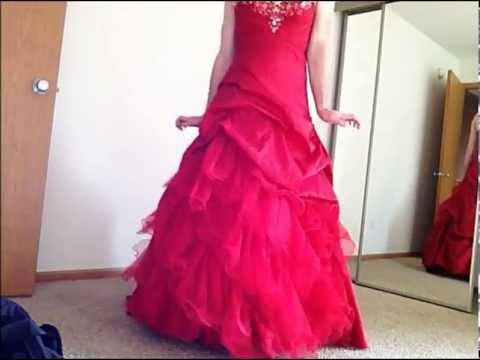 b468952ea9d Sissy Caught  Red Prom Dress - YouTube