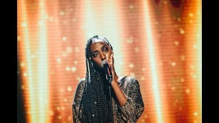 Jemima Hicintuka sjunger Ex's and oh's i Idol 2017 - Idol Sverige (TV4)
