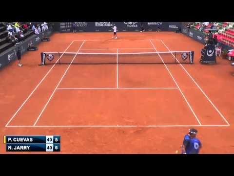 Pablo Cuevas vs Nicolas Jarry - QF - Challenger de Montevideo 2014