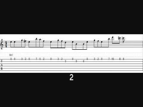 How to play the Harry Potter Theme on guitar (tab)