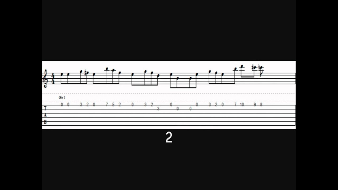 how to play the harry potter theme on guitar tab youtube. Black Bedroom Furniture Sets. Home Design Ideas