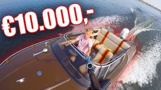 MIJN SPEED BOOT VAN €10.000!
