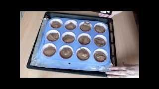 Очень вкусные Шоколадные кексы в силиконовых формах простой РЕЦЕПТ маффины