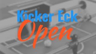 Kicker Eck Open Qualification Tablesoccer TV