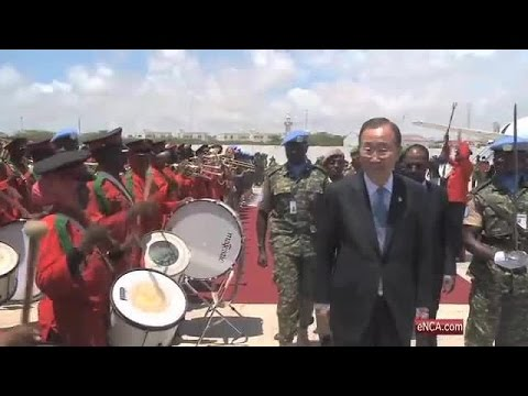 UN chief in war-torn Somalia