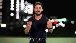 Shia LaBeouf (Шайа Лабаф) Just Do it! -  part1