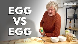 James May compares the ultimate egg sandwiches