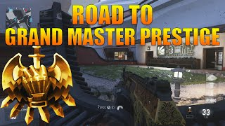 "COD AW: Road to Grand Master Prestige #7 - ""LIVE STREAM HANGOUT"" (COD:AW Gameplay)"