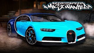 NFS Most Wanted | Bugatti Chiron Mod Gameplay [1440p60]