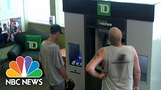 TD Bank ATM Surprises Customers | NBC News