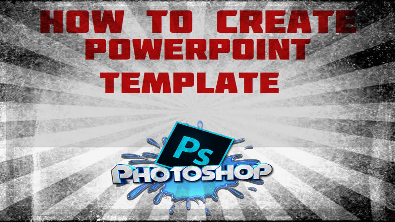 Photoshop how to create a powerpoint template with photoshop photoshop how to create a powerpoint template with photoshop elements youtube toneelgroepblik Image collections