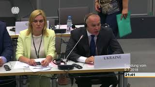 9 July 2018 (14:30-16:00) – Committee on Political Affairs and Security thumbnail
