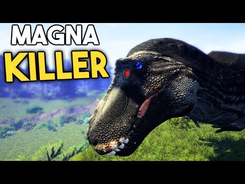 The Isle - NEW REX THAT CAN KILL MAGNA, DILO VS UTAH SIZE, NEW UTAH SOUNDS ( Gameplay )