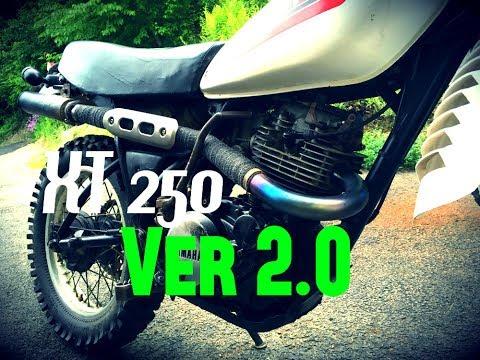 XT250 exhaust version 2 0