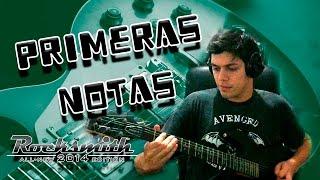 PRIMERAS NOTAS - ROCKSMITH 2014 - GAMEPLAY EN ESPAÑOL