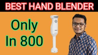 Orpat Hand Blender HHB 100E Wob Unboxing Demo & Review || Best Hand Blender In India