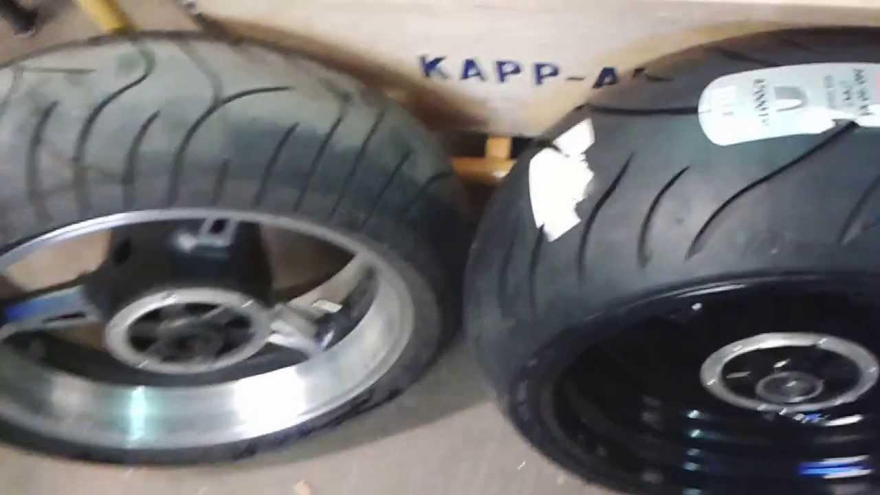 Yamaha Raider Tire Size