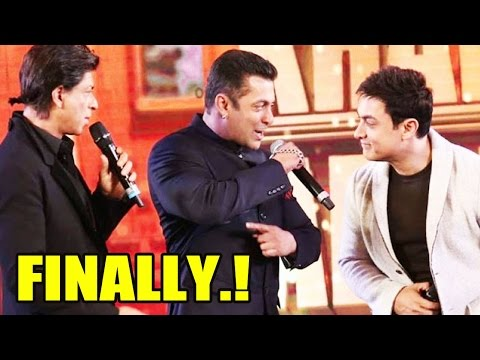 What? Shah Rukh Khan, Aamir Khan And Salman Khan Are Finally Coming Together!