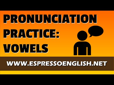 Minimal Pairs: English Pronunciation Exercises – Vowels