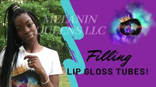 How To Fill Lip Gloss Squeeze Tubes