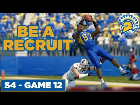 Be A Recruit! Blunder At The Of The Game! - San Jose State   NCAA Football 14  - Ep 65