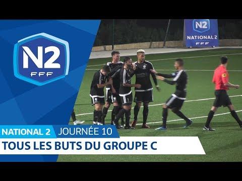 10ème journée - National 2C - Tous les buts