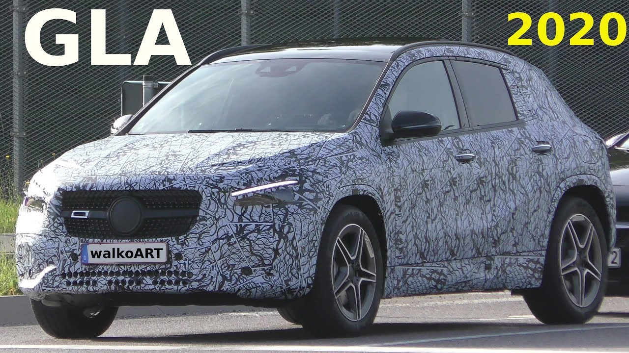 2021 Mercedes Benz Gla Spy Shots And Video