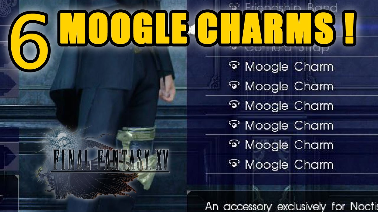 Final Fantasy XV How To Get SIX Moogle Charms All