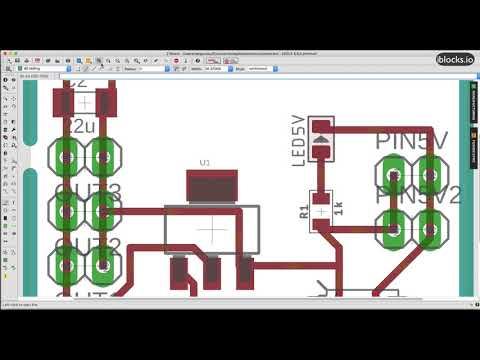 Create a circuit and pcb board using autodesk eagle tutorial