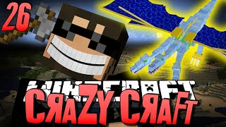 Minecraft CRAZY CRAFT 26 - THE BATTLE WITH THE QUEEN (Minecraft Mod Survival)