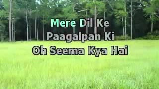 Aa Bhi Ja ( Sur ) Karaoke With Lyrics.flv