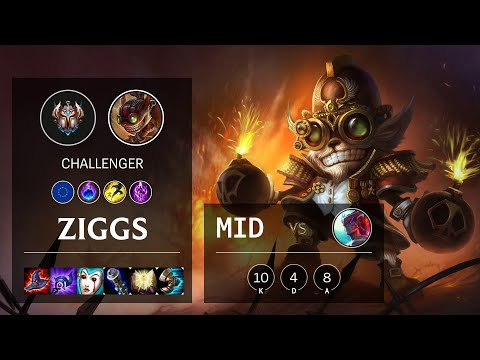 Ziggs Mid vs Yone - EUW Challenger Patch 10.16