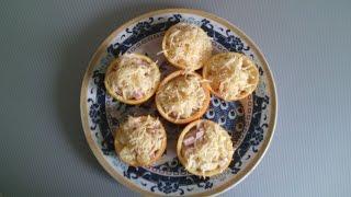 Закуска оранжевый шар с ананасовой начинкой