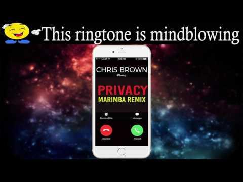 Latest iPhone Ringtone - Privacy Marimba Remix Ringtone - Chris Brown