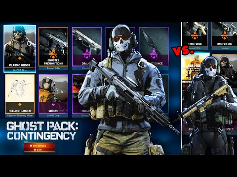 DON'T BUY Ghost Pack: Contingency Bundle Before Considering This! (Classic Ghost Vs UDT Ghost Skin)